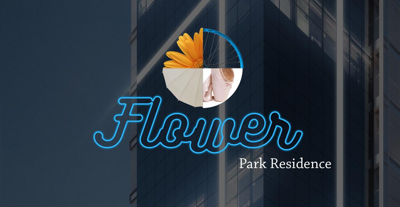 Logo Flower Park Residence